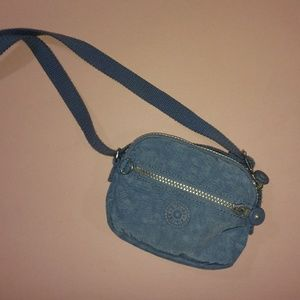 2 FOR $40 Kipling Blue Crossbody Purse